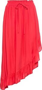 Czerwona spódnica bonprix BODYFLIRT
