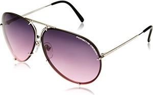 Porsche design okulary przeciwsłoneczne (p8478), kolor: titanium