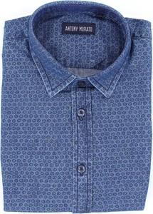 Niebieska koszula dziecięca Antony Morato