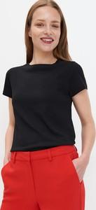 Czarny t-shirt Mohito z krótkim rękawem