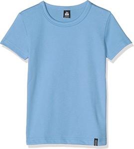 Niebieska koszulka dziecięca Trigema z bawełny