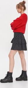 Czarna spódnica House mini w stylu casual