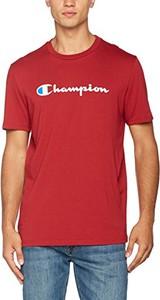 Czerwony t-shirt Champion