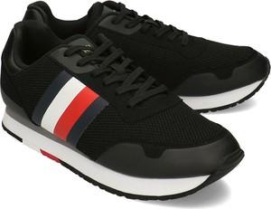 Tommy Hilfiger Corporate Materił Mix Runner - Sneakersy Męskie - FM0FM02688 BDS