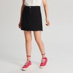 Spódnica Cropp z jeansu mini w street stylu