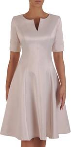 Sukienka POLSKA z krótkim rękawem