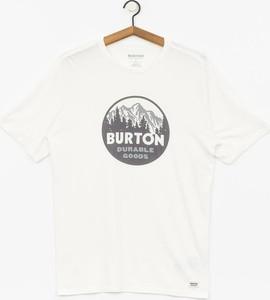 T-shirt Burton z nadrukiem z bawełny