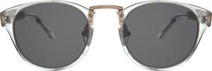 Srebrne okulary damskie Woodys Barcelona