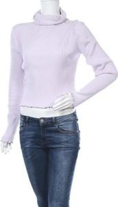 Fioletowa bluzka Gina Tricot w stylu casual