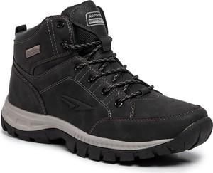 Brązowe buty zimowe Sprandi