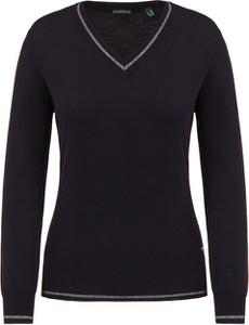 Czarny sweter Chervo z wełny