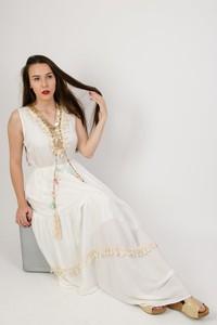 Sukienka Olika oversize w stylu glamour