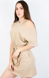 Sukienka Olika z bawełny mini w stylu casual