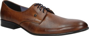 Brązowe buty Windssor sznurowane