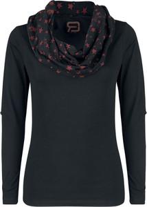 Czarna bluzka Red By Emp z bawełny