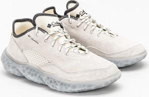 Buty sportowe Columbia sznurowane ze skóry w sportowym stylu