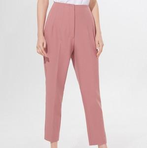 Różowe spodnie Mohito w stylu klasycznym