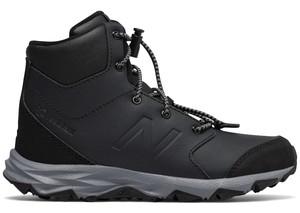 Czarne buty dziecięce zimowe New Balance sznurowane