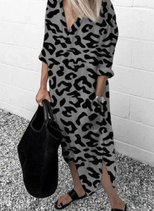 Sukienka Cikelly maxi w stylu casual