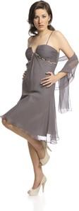 Sukienka Fokus midi z dekoltem w kształcie litery v