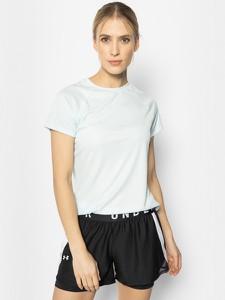 T-shirt Under Armour w stylu casual z krótkim rękawem z okrągłym dekoltem