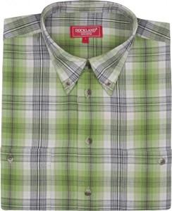 Koszula Dockland z bawełny w stylu casual z krótkim rękawem
