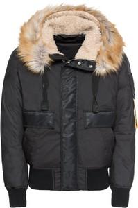 Czarna kurtka Diesel w stylu casual