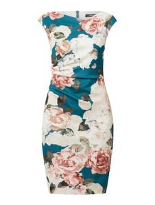 Sukienka Swing mini z dekoltem w kształcie litery v z krótkim rękawem