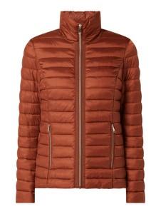 Brązowa kurtka Christian Berg Woman Selection krótka w stylu casual