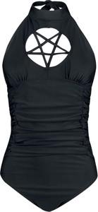 Czarny strój kąpielowy Emp w stylu casual