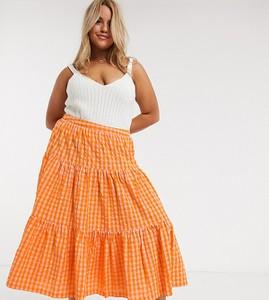 Pomarańczowa spódnica Asos