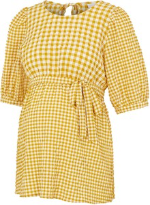 Mama Licious Bluzka ciążowa w kolorze żółtym