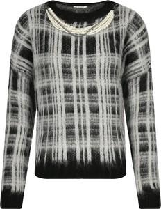 Sweter Liu-Jo w stylu casual z wełny z nadrukiem