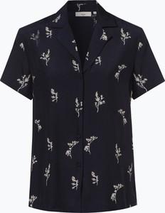 Granatowa bluzka Minimum z krótkim rękawem