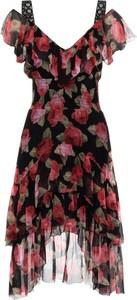 Sukienka Kooples X Sport mini z dekoltem w kształcie litery v