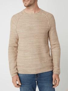 Sweter Review z bawełny w stylu casual z okrągłym dekoltem
