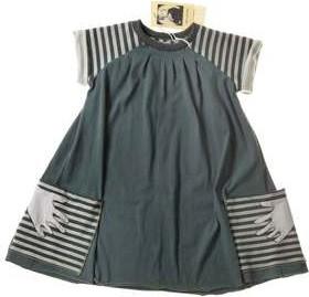 Zielona sukienka dziewczęca Decodada z bawełny