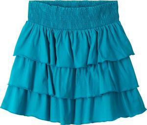 Niebieska spódniczka dziewczęca bonprix bpc bonprix collection