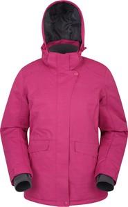 Różowa kurtka Mountain Warehouse z tkaniny