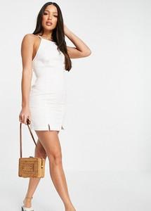 Sukienka Asos z dekoltem halter mini