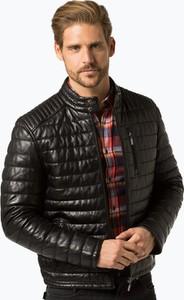 Czarna kurtka Andrew James w stylu casual