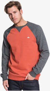 Czerwona bluza Quiksilver z bawełny
