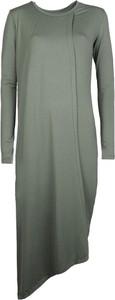 """Zielona sukienka Sugarbird Sukienka """"faria"""" z tkaniny z długim rękawem"""