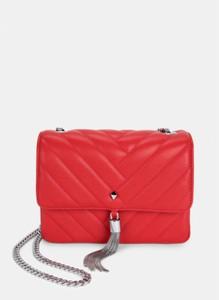 Czerwona torebka DeeZee w stylu glamour