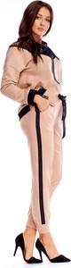 Spodnie sportowe Ptakmoda.com z tkaniny w sportowym stylu
