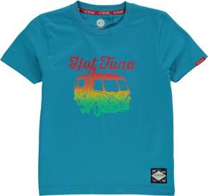 Błękitna koszulka dziecięca Hot Tuna