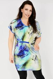 3a32b8ceeaae4f tunika sukienka rozszerzana w biodrach - stylowo i modnie z Allani