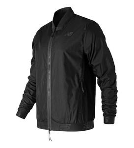 Czarna kurtka New Balance z bawełny