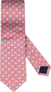 Różowy krawat Goldband z jedwabiu
