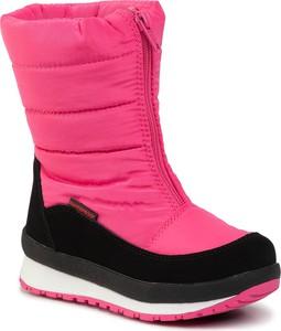 Różowe buty dziecięce zimowe CMP